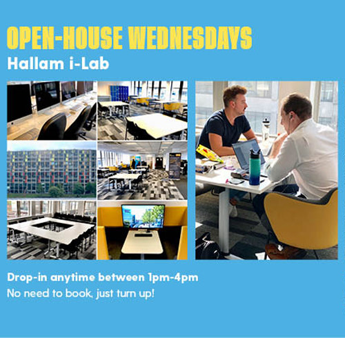 Open House Wednesdays flyer